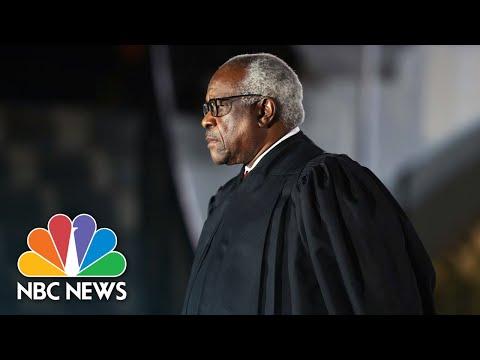 Justice Clarence Thomas Questions Federal Policy On Marijuana - Видео онлайн