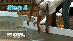 5 Steps to Building a Vinyl Pool | Hot Springs Pools & Spas | Greenville SC, Asheville NC