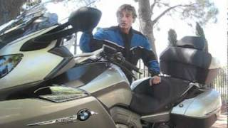 2012 BMW K1600GTL Motorcycle Review - New Beemer makes Gold Wing look wrinkly