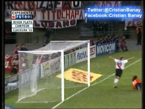 River 2 Chacarita 2  (Relato Marcelo Araujo) Clausura 2002
