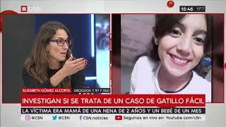 Santiago del Estero: murió la joven baleada por la policía