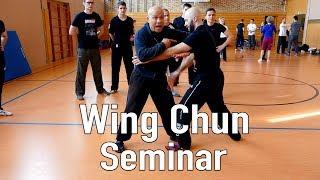 Wing chun seminar in Germany – Master Wong