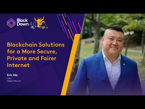 Blockchain Solutions for a more Secure, Private and Fairer Internet on BlockDown 4.0 Day 1