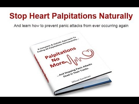 What are the symptoms of heart palpitations?