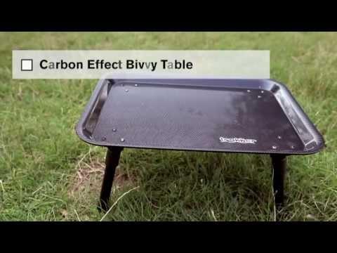 Carp Fishing Trakker Carbon Effect Bivvy Table