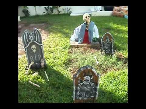 Decoracion casa halloween youtube - Decoracion fiesta jardin ...