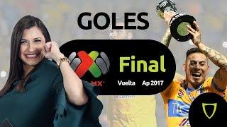 TIGRES VS MONTERREY FINAL VUELTA Goles Liga mx 11/Diciembre/2017
