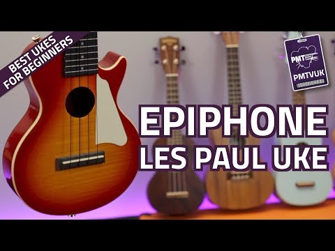 Epiphone LP Les Paul Ukulele - Quick Look & Demo from YouTube · Duration:  2 minutes 8 seconds