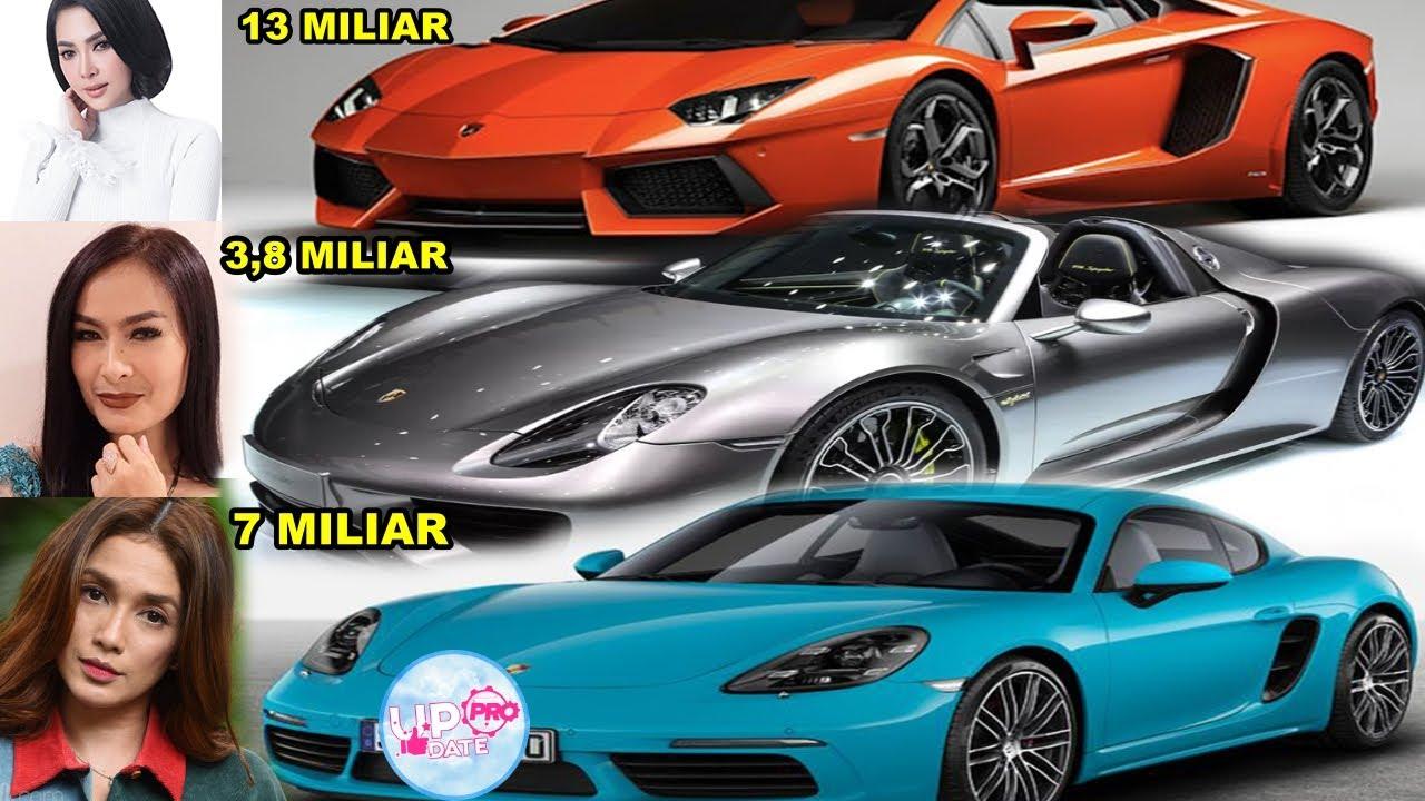 Beginilah Cara Artis Indonesia Menghamburkan Uangnya Mobil Mewah Milik Artis Indonesia Youtube