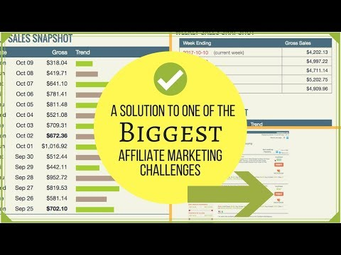 A Solution to One of The Biggest Affiliate Marketing Challenges