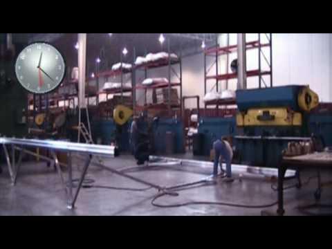 Conergy Solar Giant III Assembly Timelapse