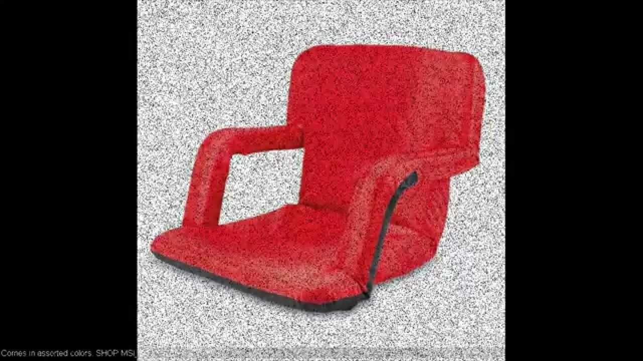 Bleacher Seat Cushion Chair YouTube – Chair for Bleachers