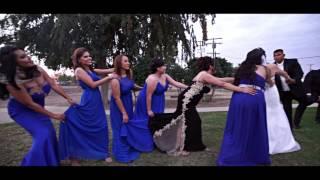 #mannequinchallenge Wedding | Orlando & Gloria