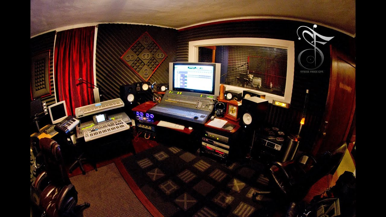 Pro Recording Studio Tour In Nj Youtube