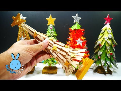 5 DIY Christmas Recycled Decoration! Amazing DIY crafts for Christmas tree That you can do