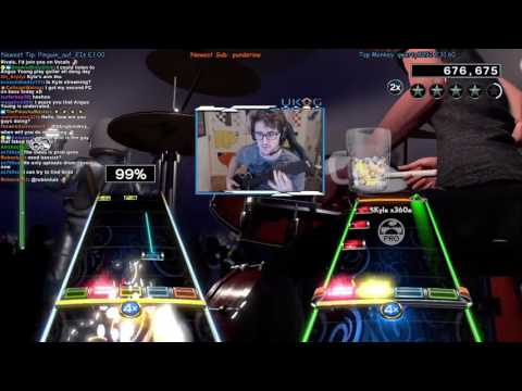 LET THERE BE ROCK (LIVE) ~ AC/DC ~ COOP FC, GUITAR/DRUMS