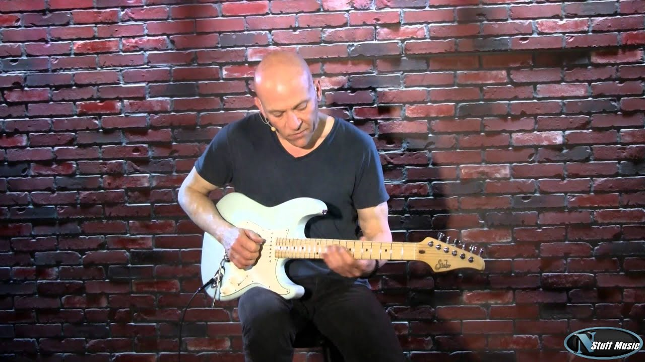 Suhr Classic Series Electric Guitar Sonic Blue Youtube