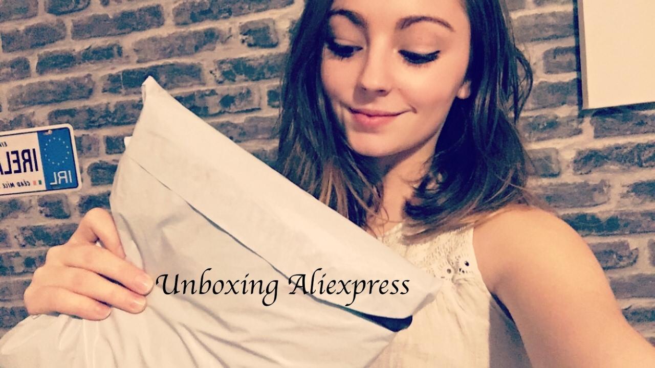 ASMR FRANCAIS ♡ Unboxing Aliexpress de Février ♡