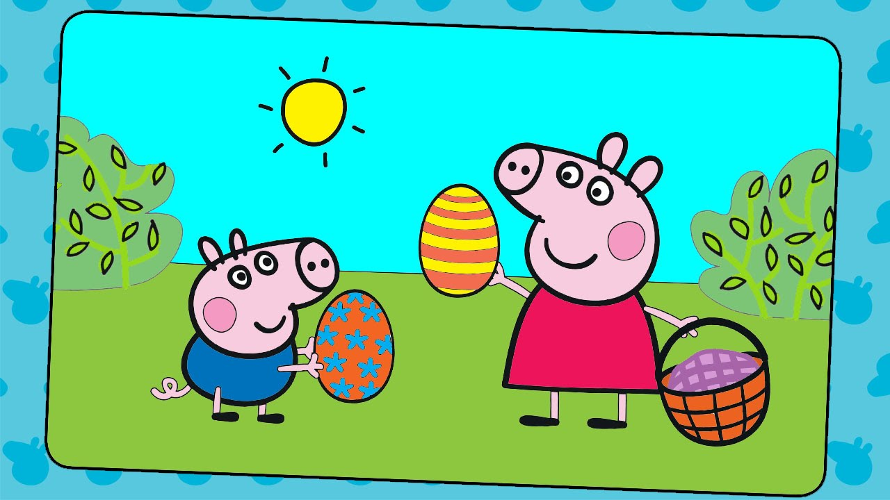 Easter Coloring Pages For Kids ♥ Easter Coloring Book ♥ Part 03 ...