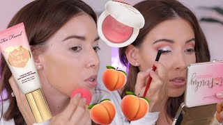 Too Faced Peaches and Cream Collection Tutorial + Review