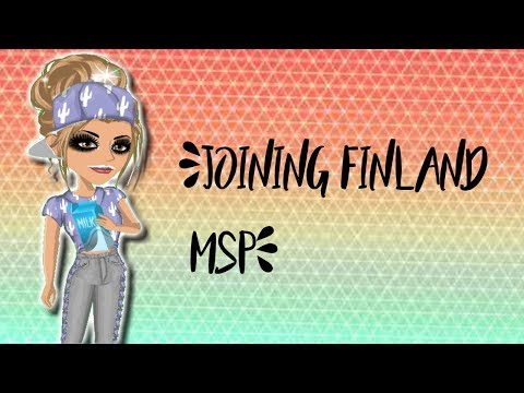 Msp: Joining Finland Msp