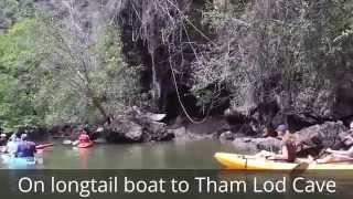 Travel to Krabi: Visit Koh Klang Island, Tham Lod Cave, Phi Phi Island