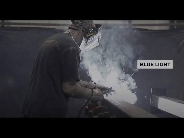Blue light: Woodworking lessons from welders