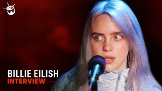 16 year old Billie Eilish on making music to dance to