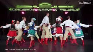 """XXX FORUM HUMANUM MAZURKAS -Narodowy Chór Ukrainy im. """"G.G.Wierowki""""-Taniec """"Kozaczok z tamburynem""""2"""