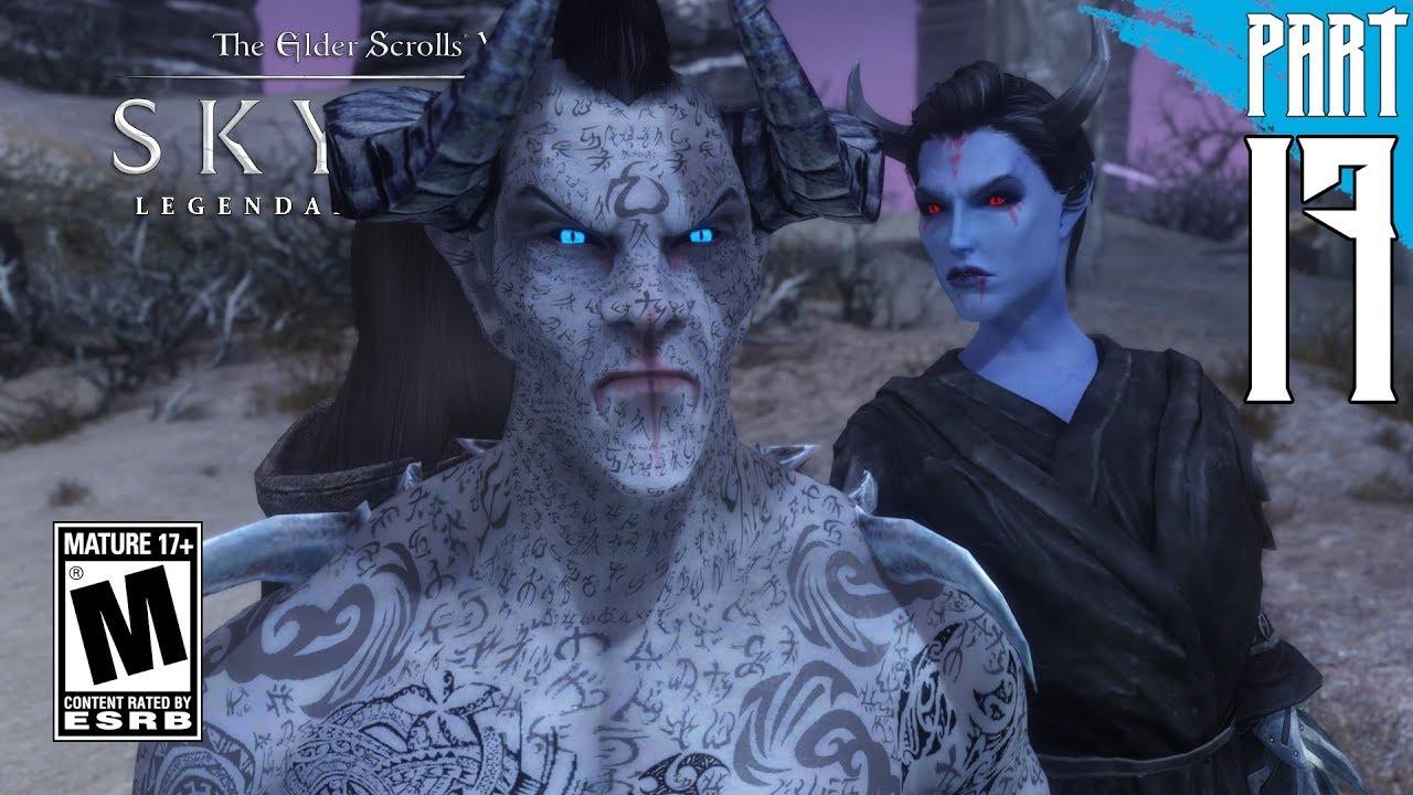 【SKYRIM 200+ MODS】Dark Elf Gameplay Walkthrough Part 17 [PC - HD]