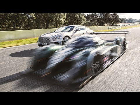 Bentley Continental GT vs Bentley Speed 8 | Top Gear: Series 26