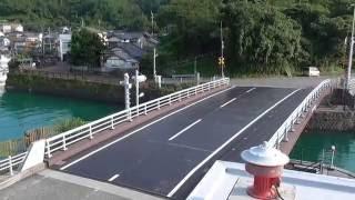 【2016.7.23】 手結港 『可動橋』 (高知県手結港臨港道路可動橋)