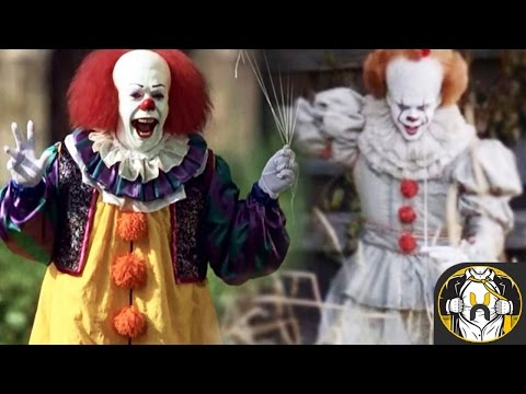 Comparing Pennywise, New and Old | Stephen Kings IT