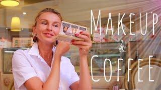 макияж на ходу. в кафе. знакомство... (KatyaWORLD)