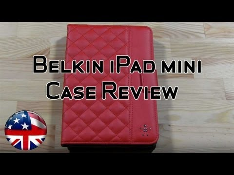 Belkin Quilted iPad Mini Case Review