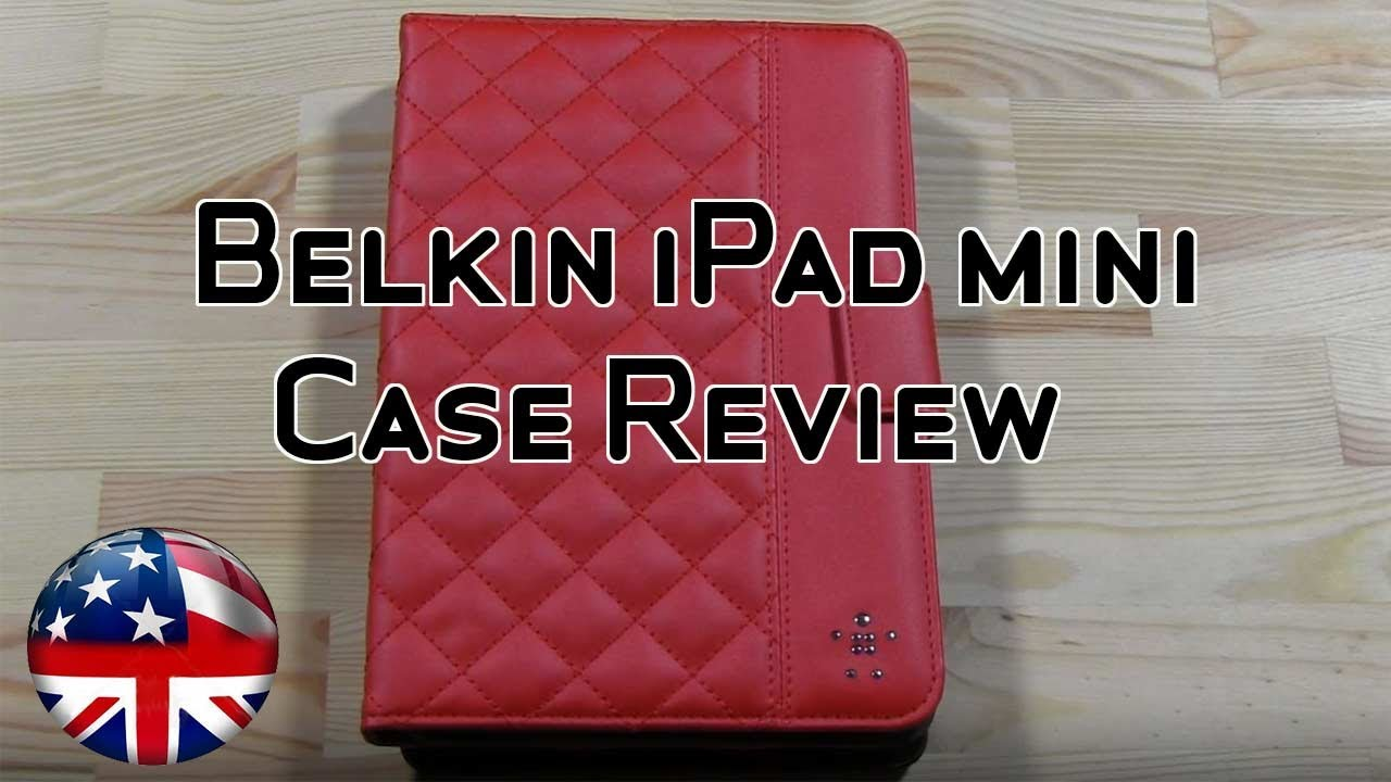 Belkin Quilted iPad Mini Case Review - YouTube : quilted ipad case - Adamdwight.com