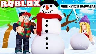 ROBLOX - ULEPIMY DZIŚ BAŁWANA? (Roblox Snowman Simulator) | VITO i BELLA