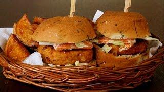 Mini Chicken Burger Recipe in Tamil