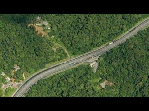 A descida da Serra de Paranaguá