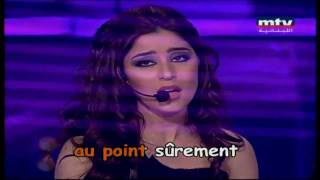 المغنية نور واداء جميل للاغنية الفرنسية - elle tu l`aimes