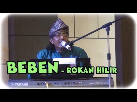 BEBEN dalam Lagu '' Rokan Hilir '' Menghibur masyarakat diacara Pengukuhan Pengurus IKROHIL Dumai