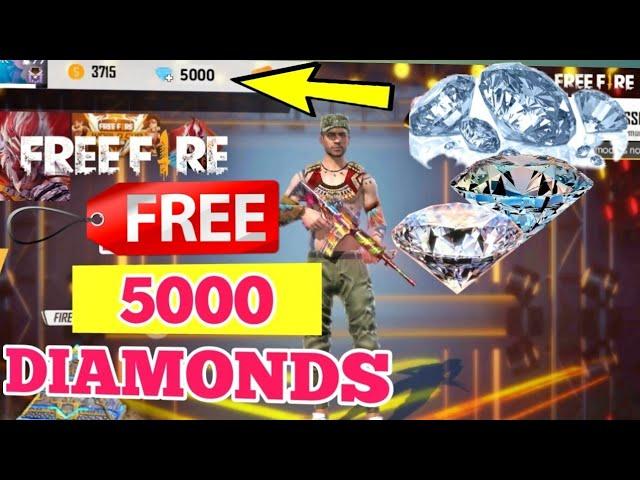 Free Diamonds In Free Fire How To Get 5000 Diamonds In Free Fire Garena Free Fire Youtube