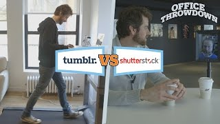 OfficeThrowdown: Tumblr Versus Shutterstock!