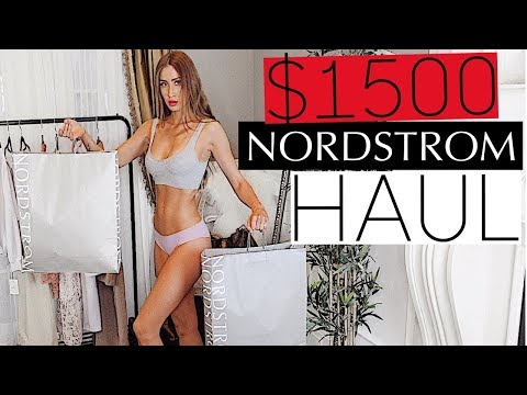 I spent $1500 at Nordstrom | Try-On Haul