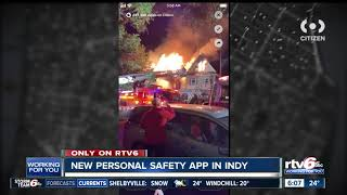 New personal safety app makes its debut in Indianapolis