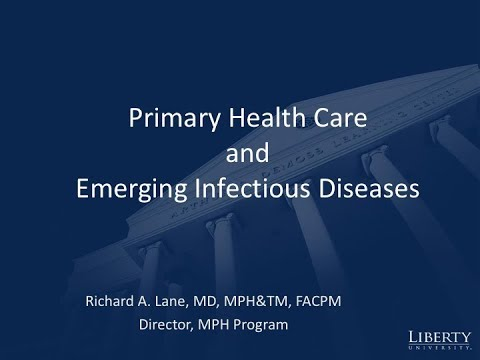 Webinar: Primary Health Care and Emerging Infectious Diseases