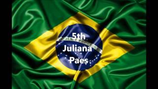 TOP 10 HOTTEST BRAZILIAN WOMEN HD