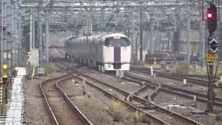 横須賀線E217系品川発車&215系試運転入線