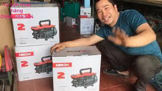 Máy rửa xe mini gia đình GEOX ,máy rửa xe dây đồng 100%, độ bền cao ,Roto dài máy khỏe . 0986484904