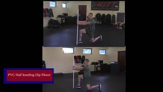 PVC Half Kneeling Hip Flexor - Force Fitness